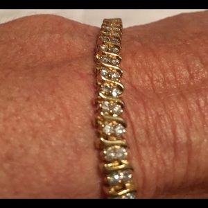 3 Ct diamond tennis bracelet